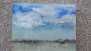 Detail Image for art Blue Sky Rain