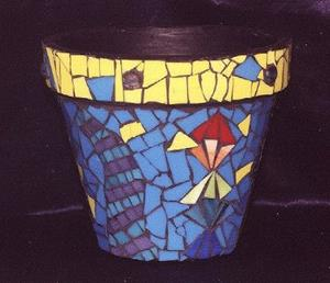 Detail Image for art Wild Cat Pot