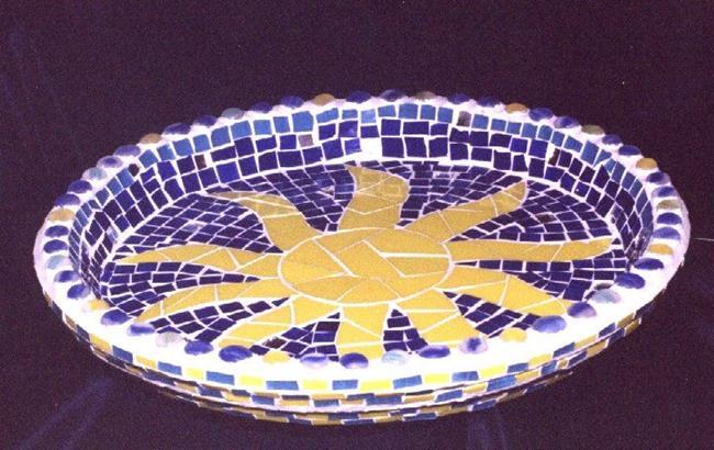 Art: Sun Dish by Artist Victor McGhee