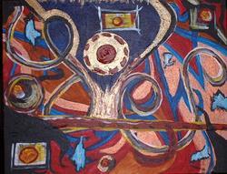 Art: Mind Circus by Artist Kathleen A. Roberson