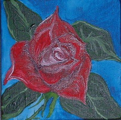 Art: RoseOpening by Artist Kathleen A. Roberson