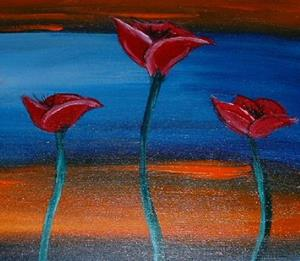 Detail Image for art Poppies, 7