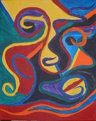 Art: Strange Distortion by Artist Kathleen A. Roberson