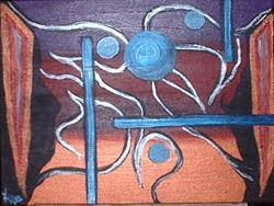 Art: Entrance by Artist Kathleen A. Roberson