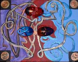 Art: Fractured Mood by Artist Kathleen A. Roberson