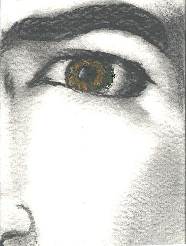 Art: Frida's Stare by Artist Victor McGhee