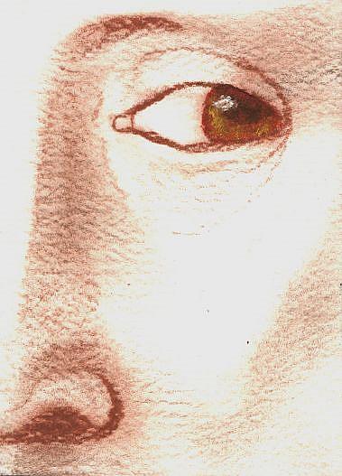 Art: A Man in A Turban by Artist Victor McGhee