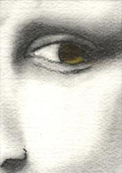 Art: Mona's Gaze by Artist Victor McGhee
