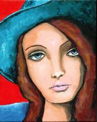 Art: Even Cowgirls Get the Blues by Artist April