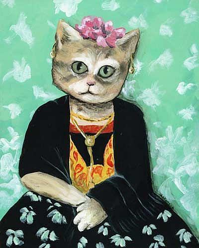 Art: Frida Katlo by Artist April