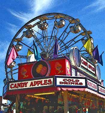 Art: Ferris Wheel by Artist April