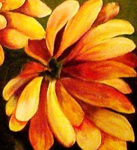 Detail Image for art Golden Mums