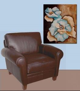 Detail Image for art Aqua Petals Abstract