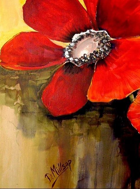 Art: Anemone  by Artist Diane Millsap