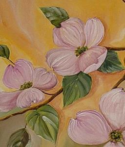 Detail Image for art Dogwood Blossoms