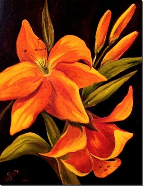 Art: Lily by Artist Diane Millsap