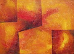 Art: THE GATHERING by Artist Gail Meyer