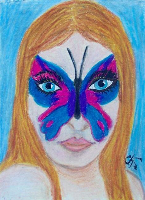 Art: BUTTERFLY LOVE by Artist christi lynn schwartzkopf