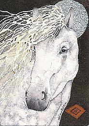 Art: Caballo de Plata by Artist Gretchen Del Rio
