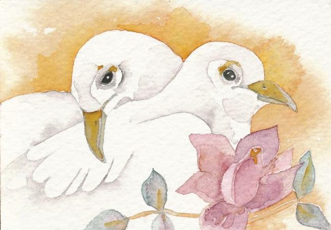 Art: THE COUPLE by Artist Gretchen Del Rio