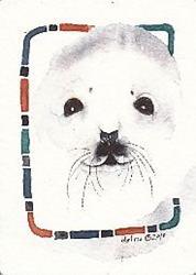 Art: 'SEAL PUP' by Artist Gretchen Del Rio