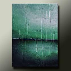 Art: Abstract Landscape #49 by Artist Idil Kamlik