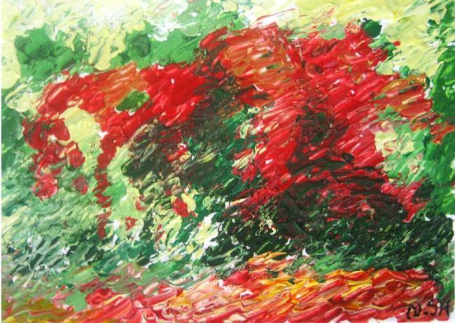 Art: Summer Heat #11 by Artist Nellie Amiri