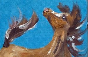 Detail Image for art Horse Aceo