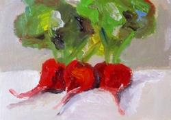 Art: Beets Aceo-SOLD by Artist Delilah Smith