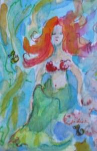 Detail Image for art Mermaid 3 ACEO