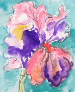 Detail Image for art Iris,SOLD