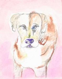 Detail Image for art Dog , SOLD