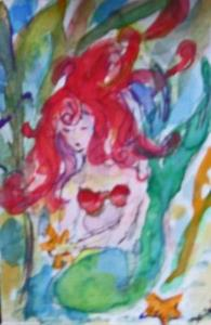 Detail Image for art Mermaid Aceo