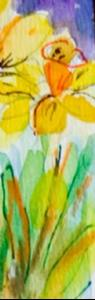 Detail Image for art daffodils Aceo