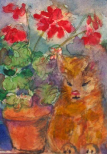 Art: Secret Garden by Artist Delilah Smith