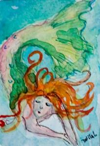 Detail Image for art Mermaid 4 Aceo