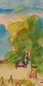 Detail Image for art Farm Fields ACEO-sold