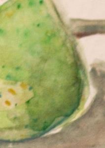Detail Image for art Green Pear Aceo-sold