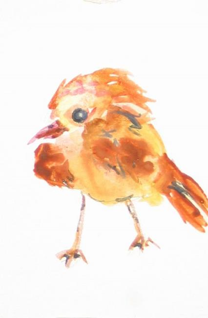 Art: The Bird , SOLD by Artist Delilah Smith