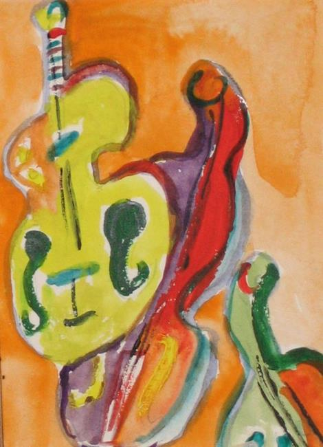 Art: Hear the Music, SOLD by Artist Delilah Smith