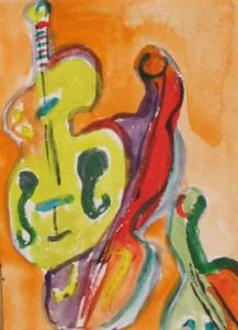 Detail Image for art Hear the Music, SOLD