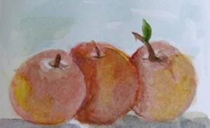 Detail Image for art Three Peaches-sold