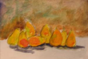 Detail Image for art Line of Pears-sold