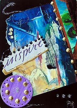 Art: INSPIRE by Artist Dottie Cooper Katz