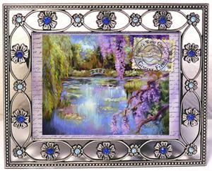 Detail Image for art ACEO - A Note from Monet's Water Gardens - Print from Original Painting