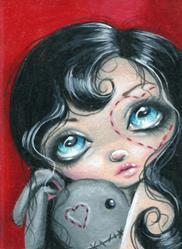 Art: Love's First Stitch by Artist Sour Taffy