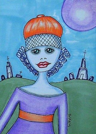 Art: VISIT-Sold by Artist Sherry Key