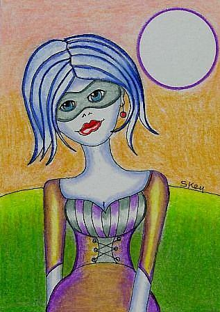 Art: Renaissance Masquerade by Artist Sherry Key
