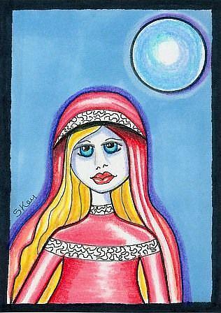 Art: Mary by Artist Sherry Key
