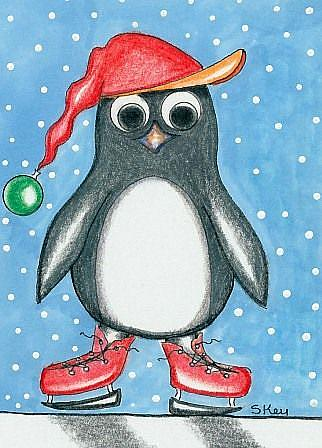 Art: Pengy-Sold by Artist Sherry Key
